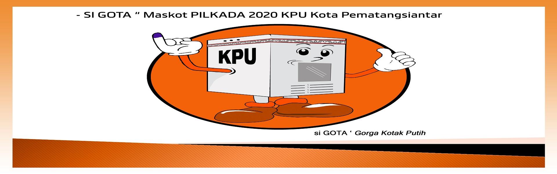 Maskot Pemilihan Serentak Tahun 2020 KPU Kota Pematangsiantar